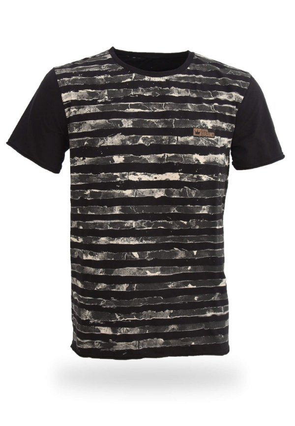 Camiseta Cammo Stripes