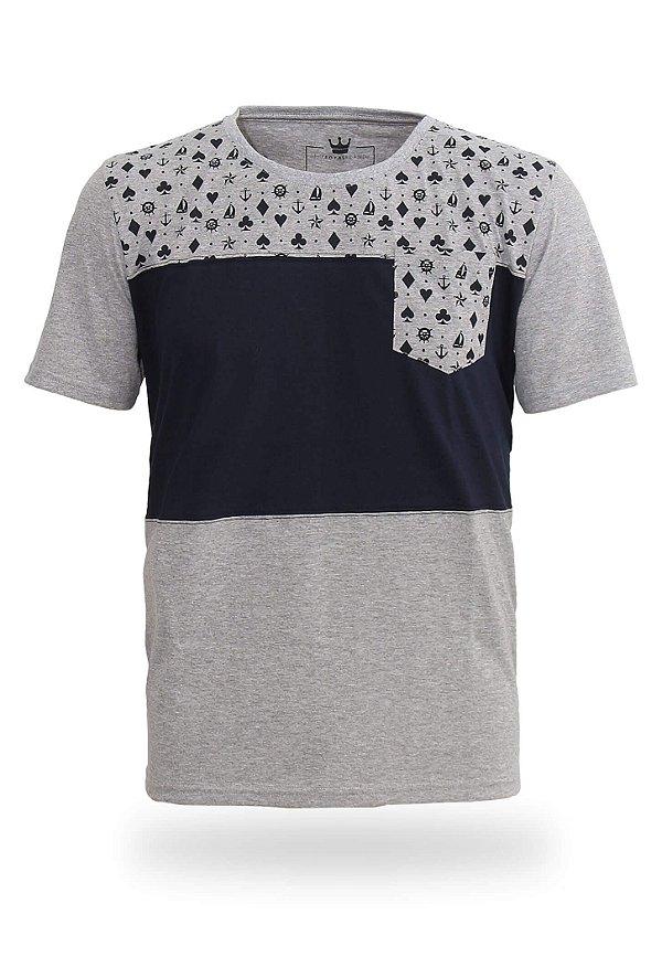 Camiseta Navy Suits