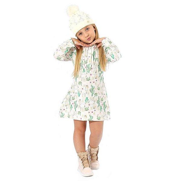 Vestido Infantil Lhama