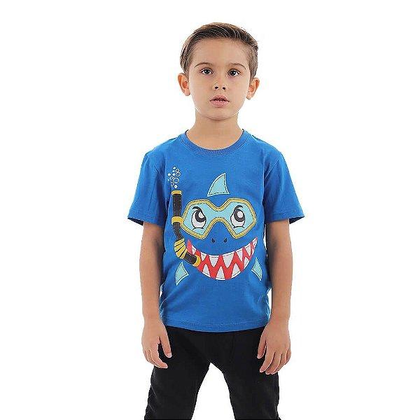 Camiseta Infantil Menino Shark
