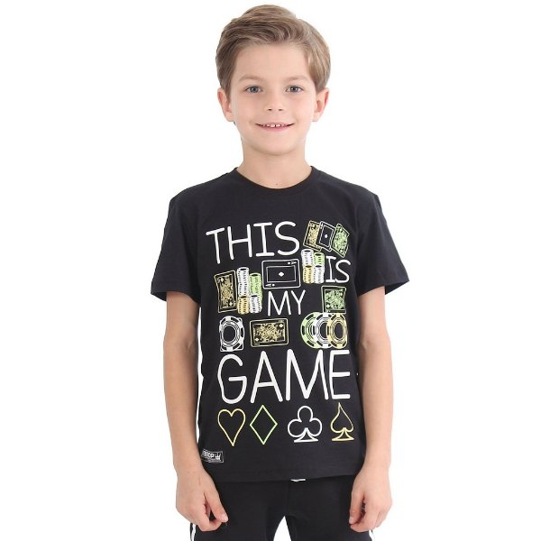 Camiseta Infantil Menino This is My Game