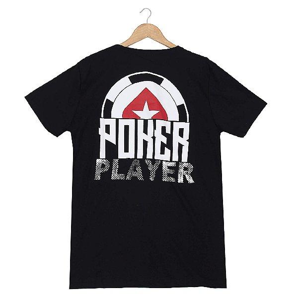 Camiseta BSOP Poker Player Preto