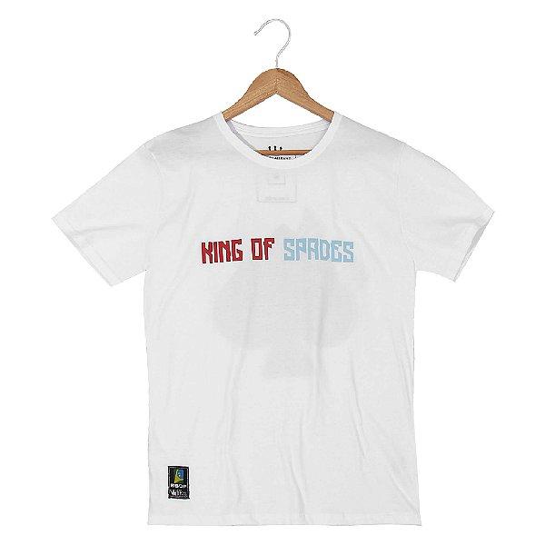 Camiseta BSOP King of Spades Branco