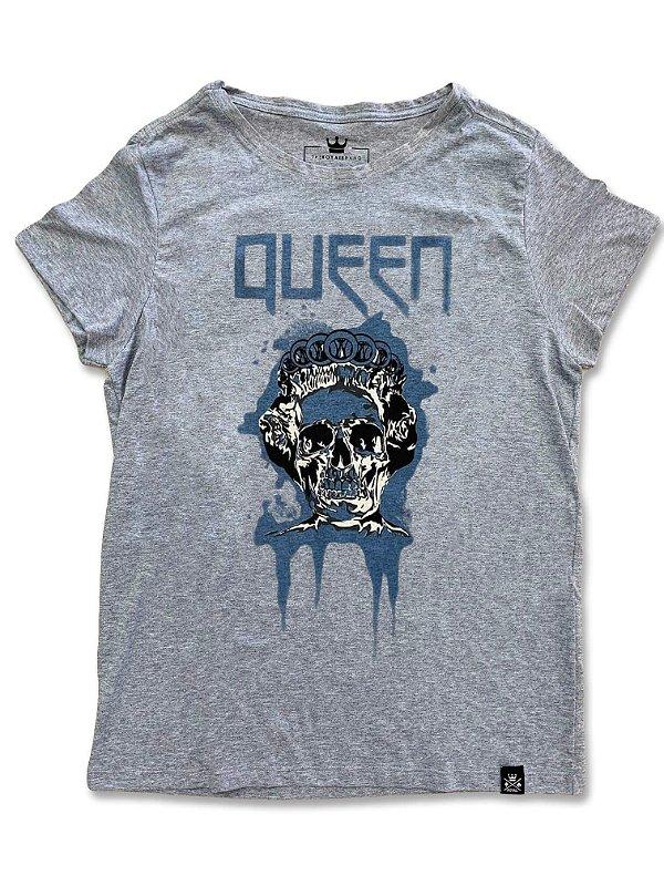 Camiseta Feminina Queen Mescla