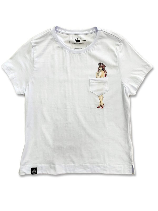 Camiseta Feminina Poker Pin-up
