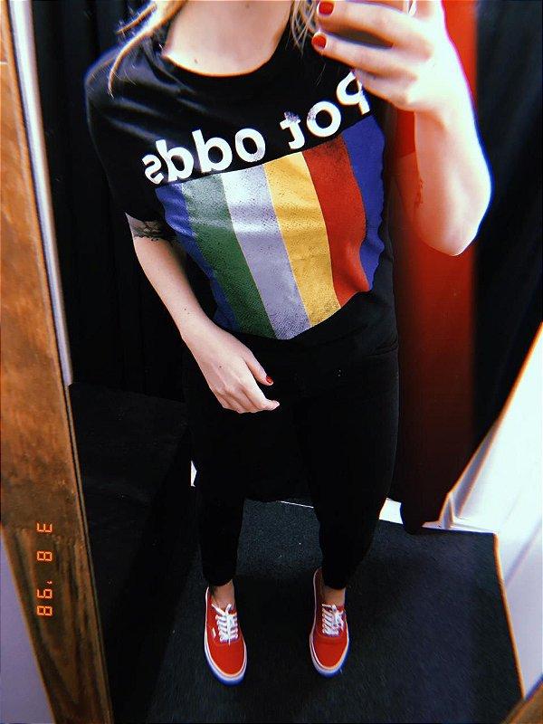 Camiseta Feminina Pot Odds