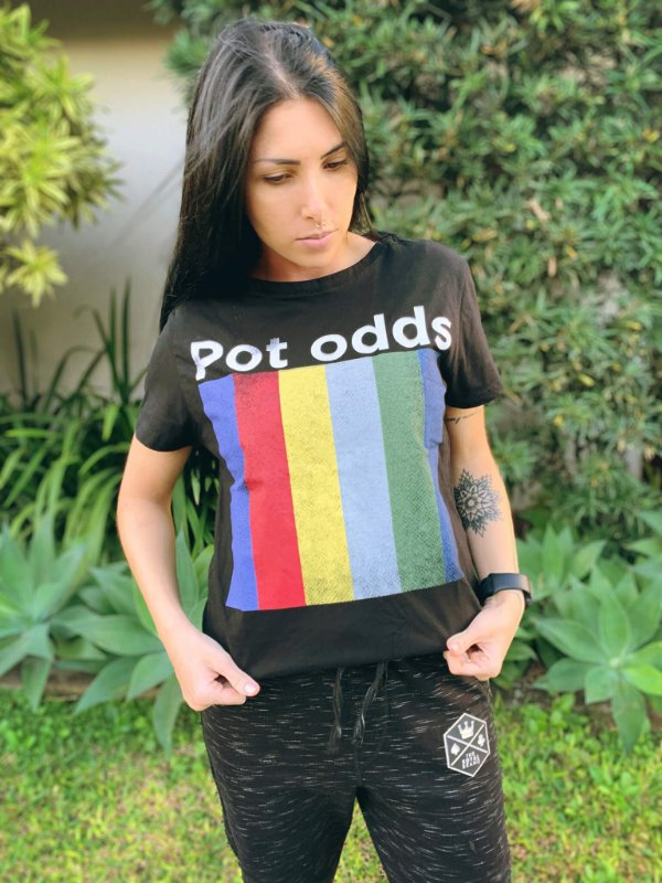 Camiseta Feminina Pot Odds