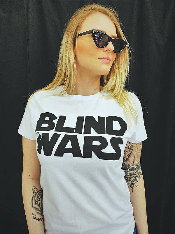 Camiseta Feminina Blind Wars
