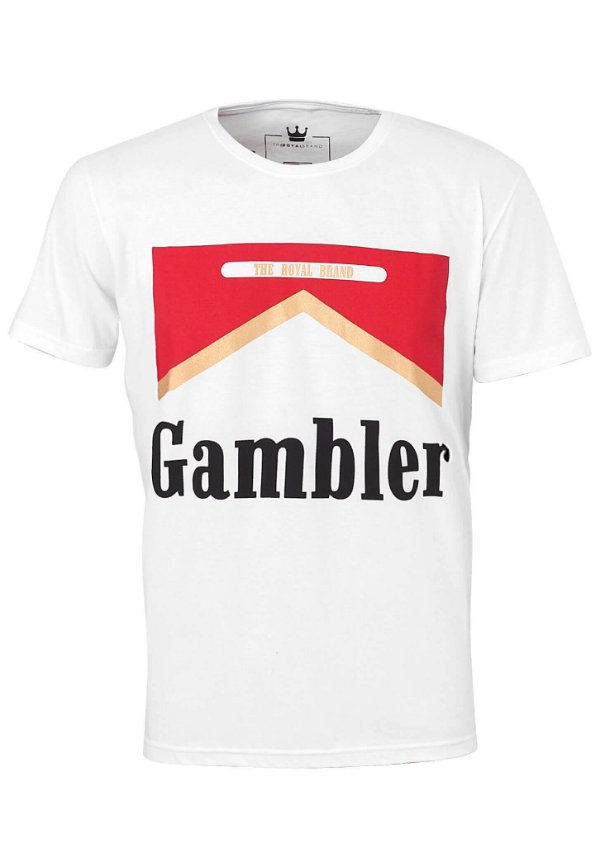 Camiseta Feminina Gambler Cigar