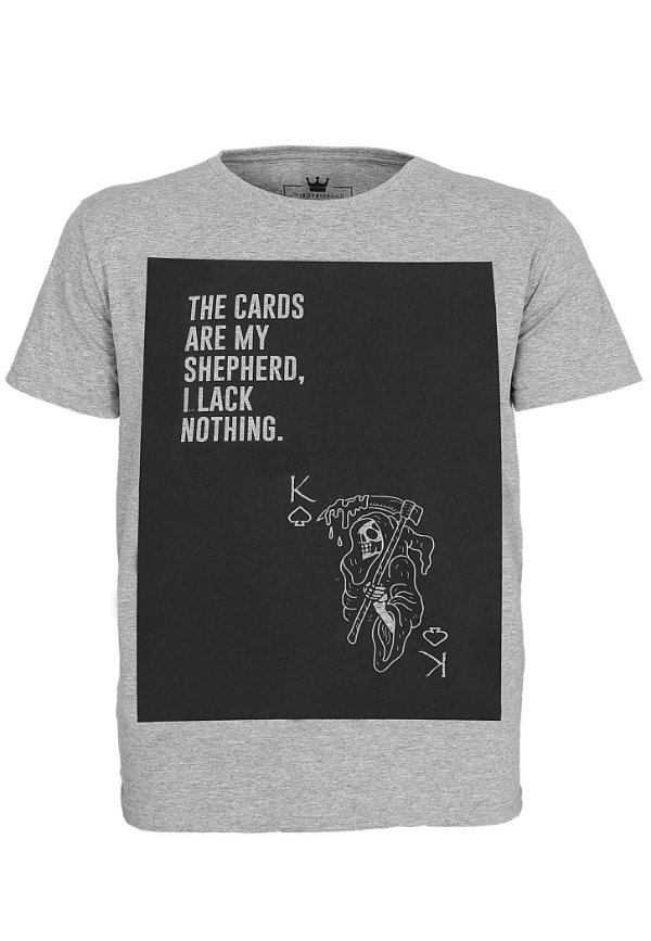 Camiseta Cards Are My Shepherd