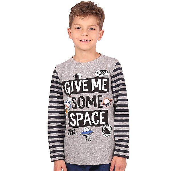 Moletom Infantil Menino Give Me Some Space