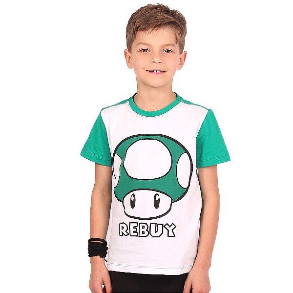 Camiseta Infantil Menino Rebuy