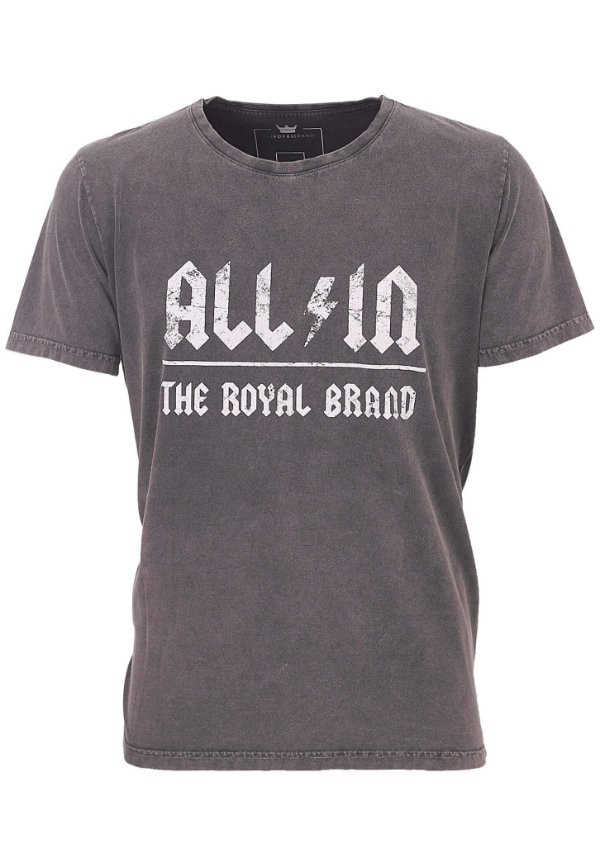 Camiseta All In Royal Brand