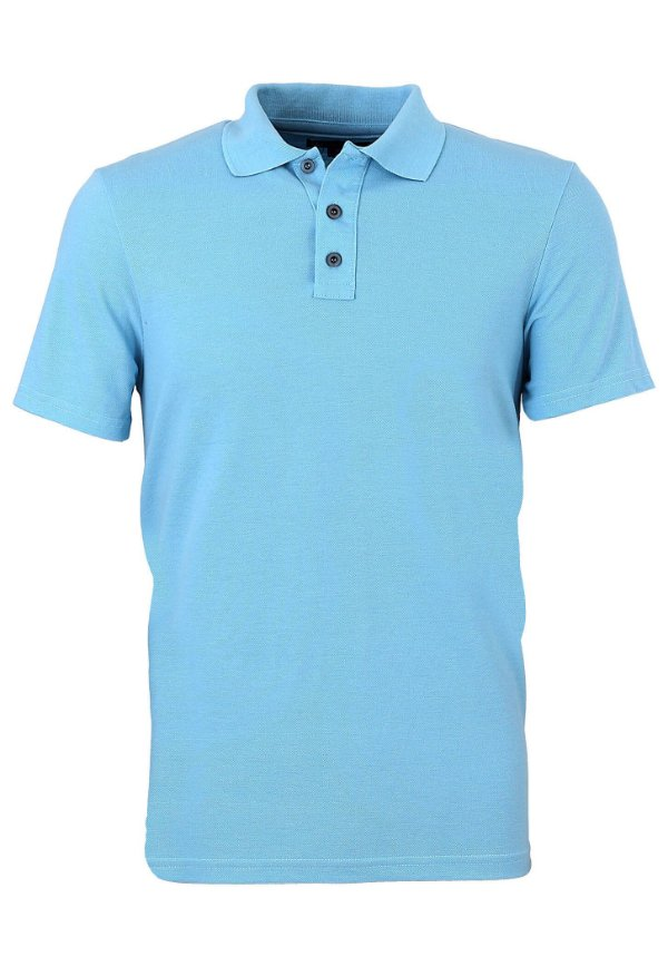 Polo Basic Lisa Azul