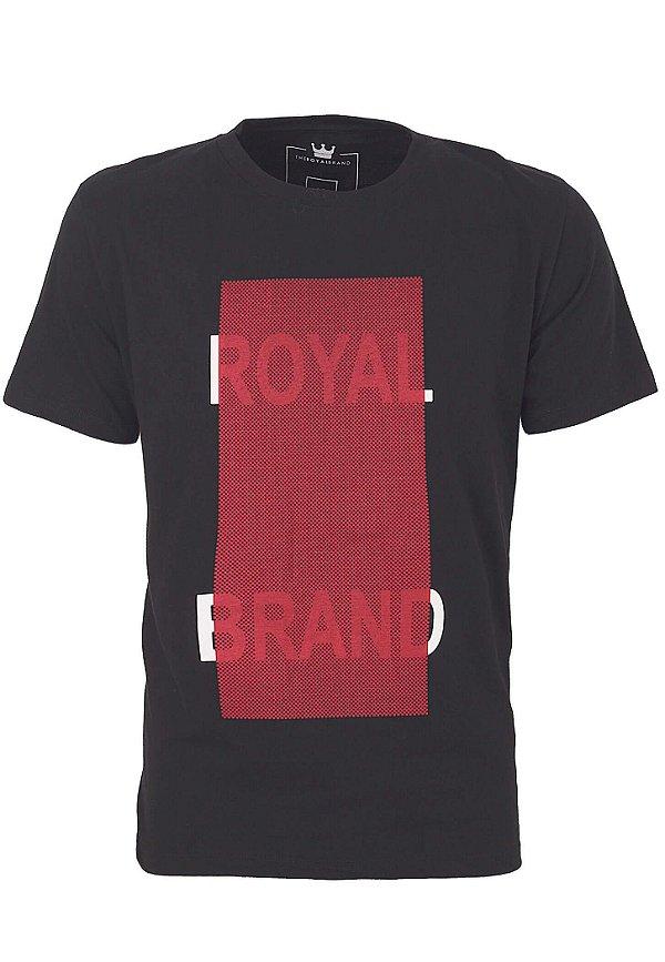 Camiseta Royal Brand Red Square