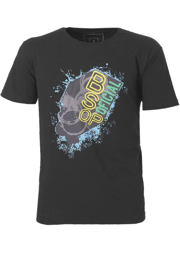 Camiseta BSOP Splash Preto
