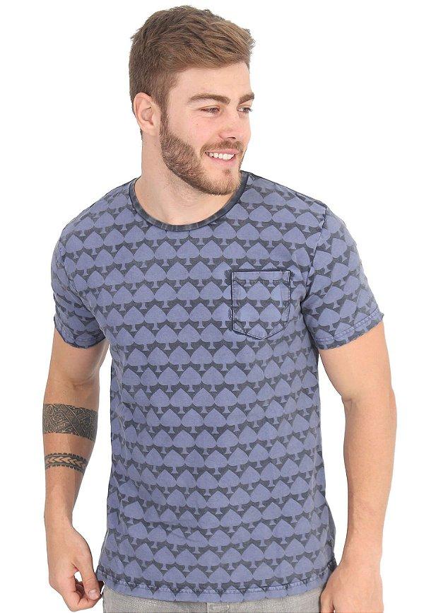 Camiseta Blue Spades