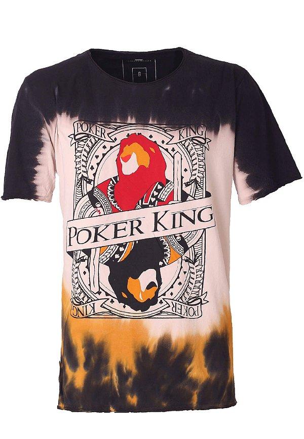 Camiseta Lion Poker King