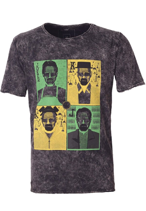 Camiseta Poker Heisenberg