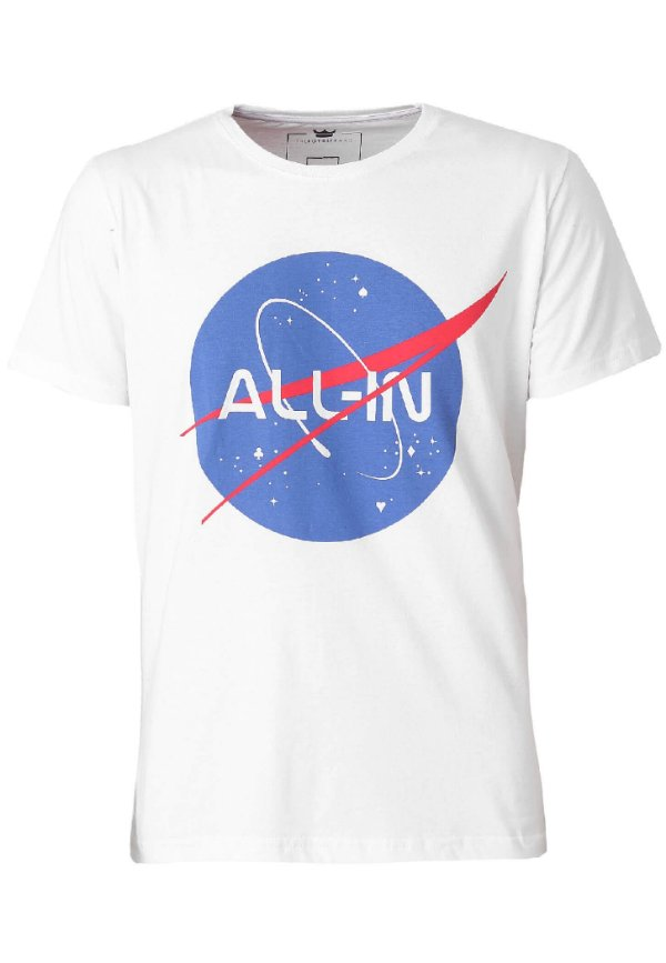 Camiseta All In Space