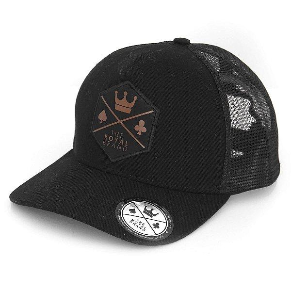 Boné Royal Logo Black