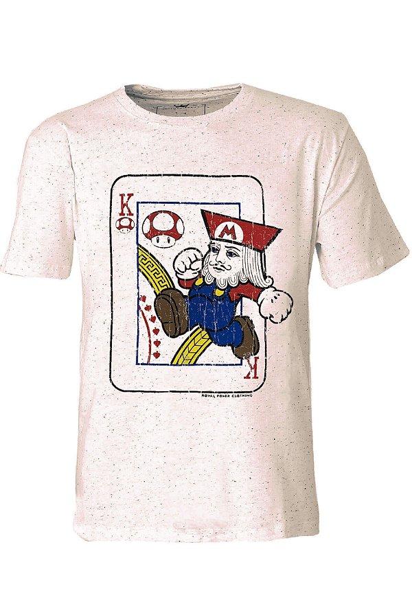 Camiseta King Mario