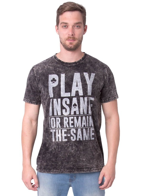 Camiseta Play Insane