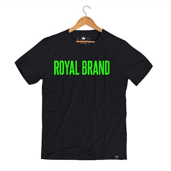 Camiseta Royal Signature Preto