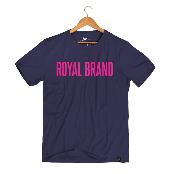 Camiseta Royal Signature Roxo