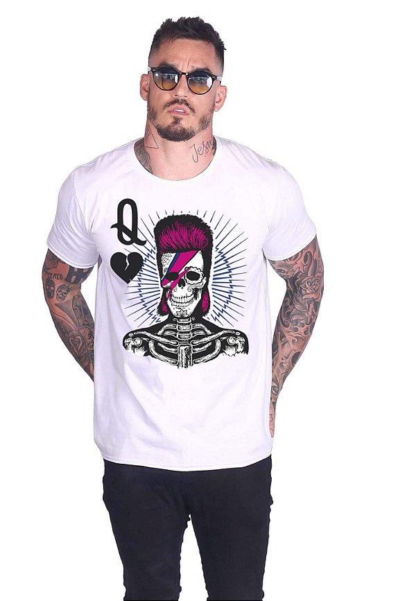 Camiseta Queen Bowie