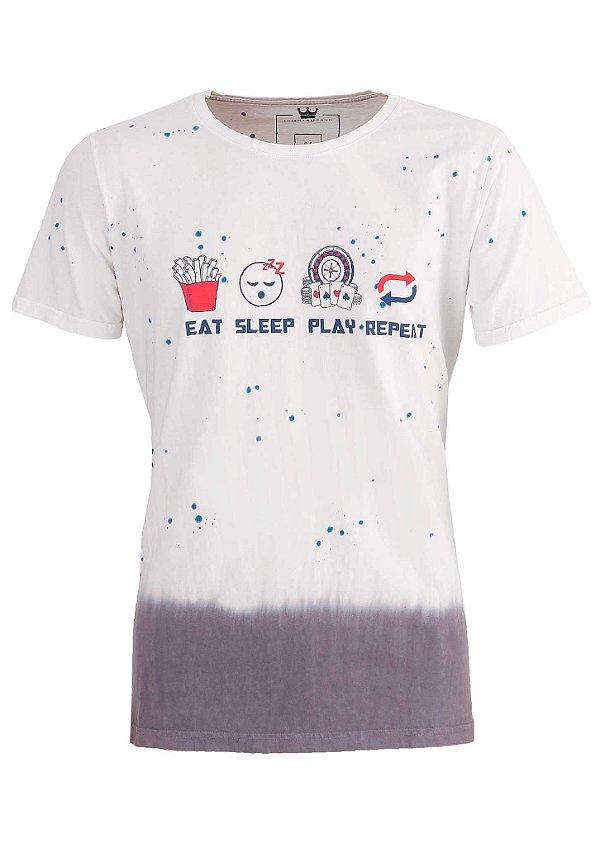 Camiseta Eat Sleep Play Repeat