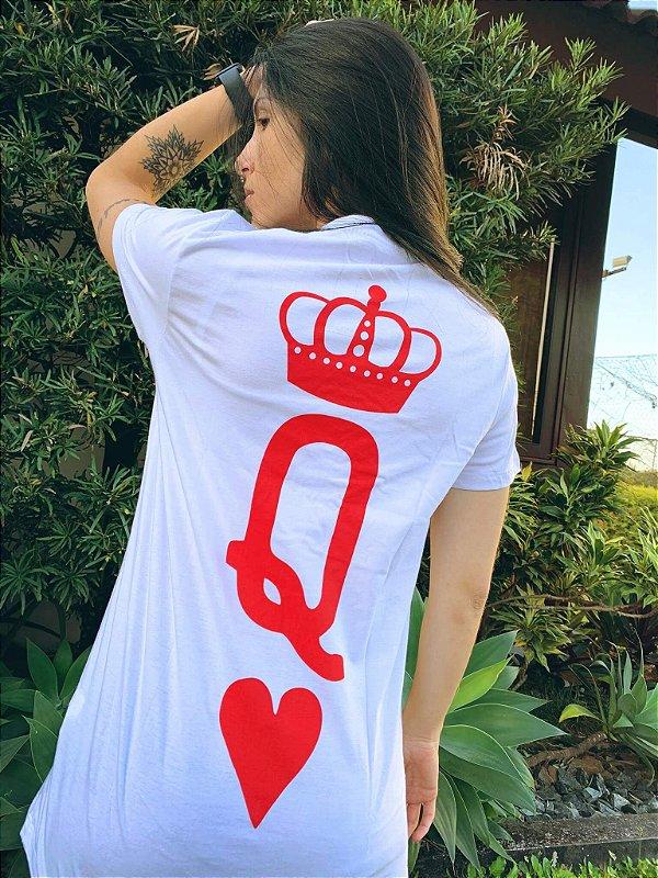 Camiseta Feminina Valentine Queen