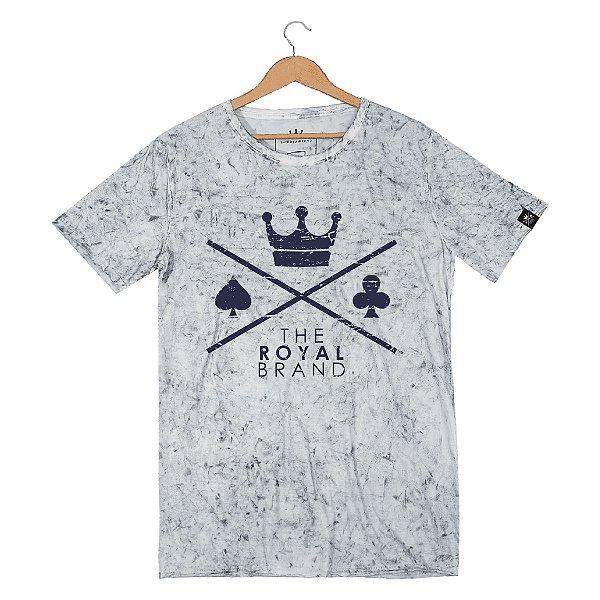 Camiseta Royal Signature Logo Sky