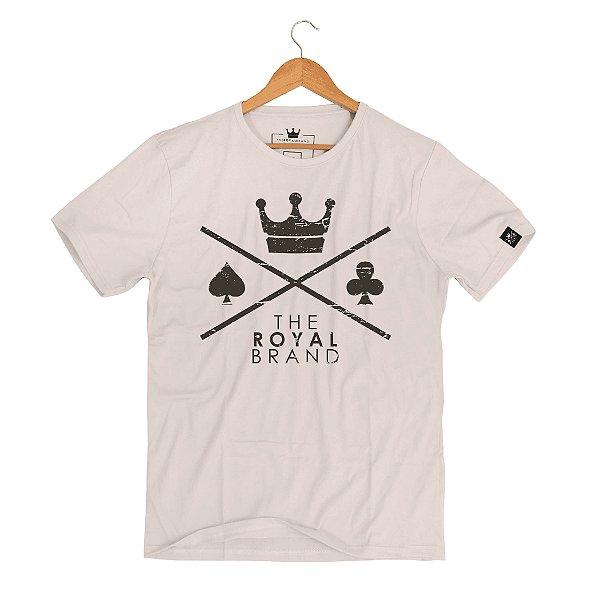 Camiseta Royal Signature Logo Cream