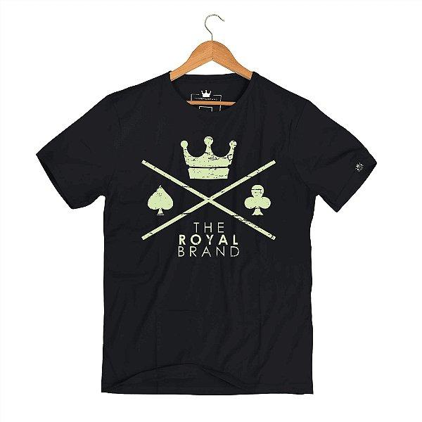 Camiseta Royal Signature Logo Preto
