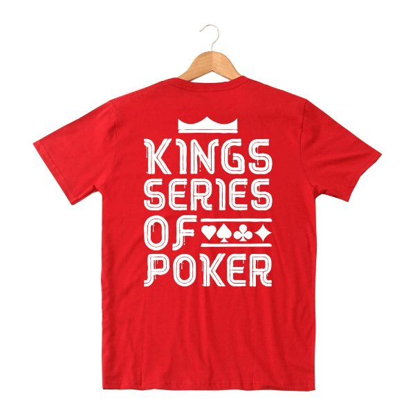 Camiseta KSOP Melted Vermelho