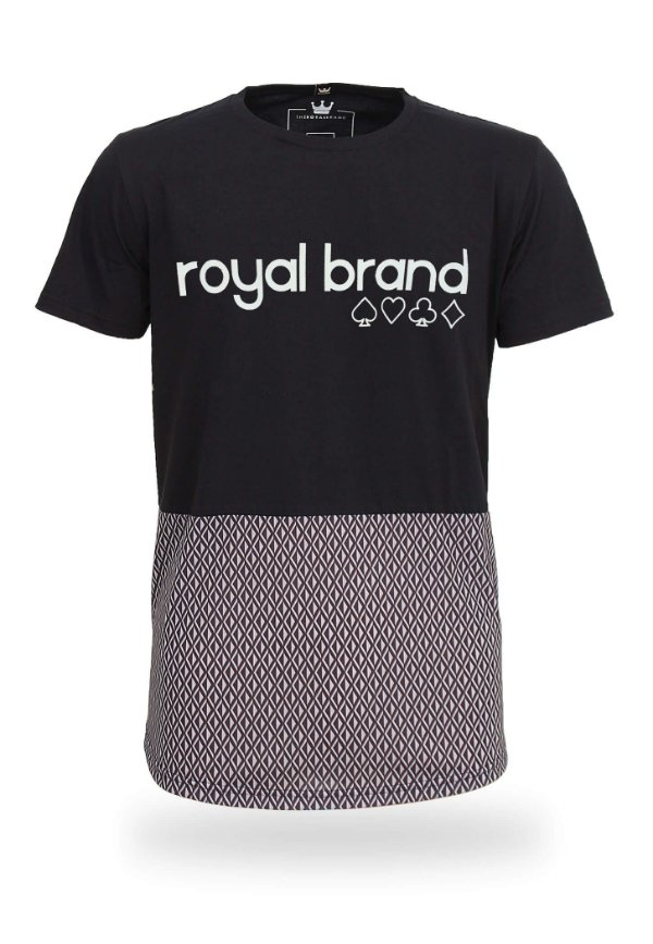 Camiseta Royal Brand Diamond Suits