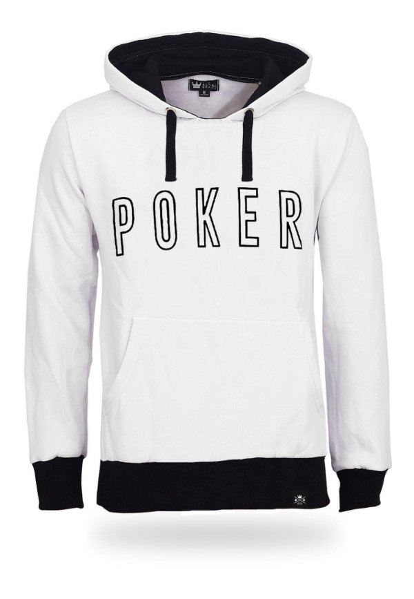 Moletom Poker White