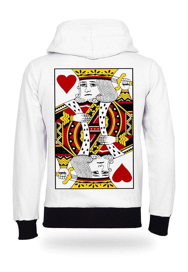 Moletom King of Hearts White