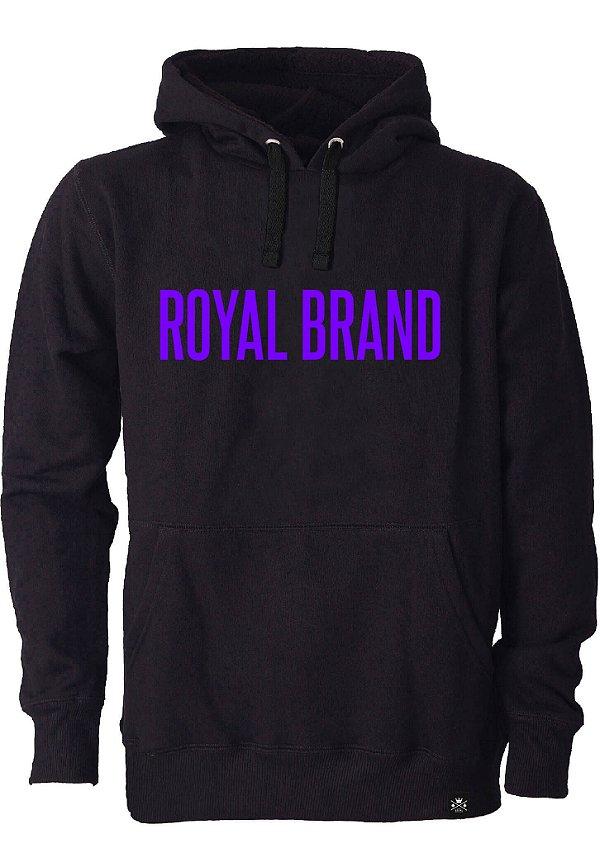 Moletom Royal Brand Black & Purple