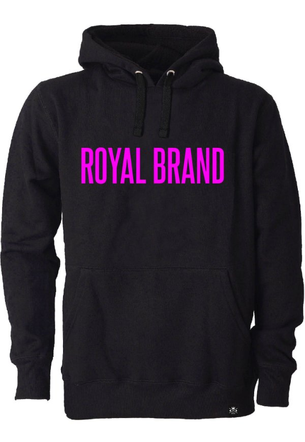 Moletom Royal Brand Black & Pink