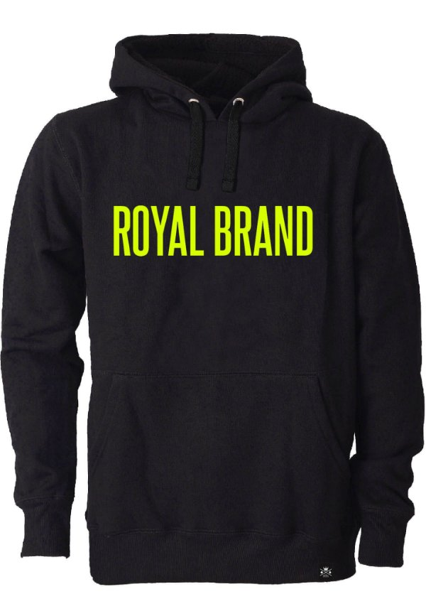 Moletom Royal Brand Black & Yellow