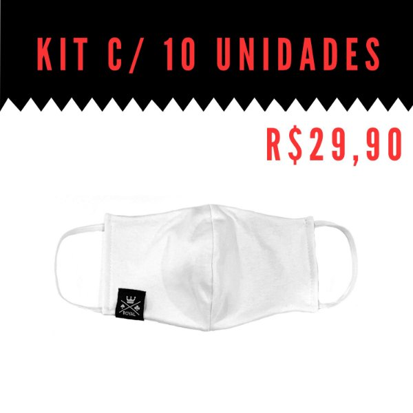 Kit 10 Máscaras Covid-19