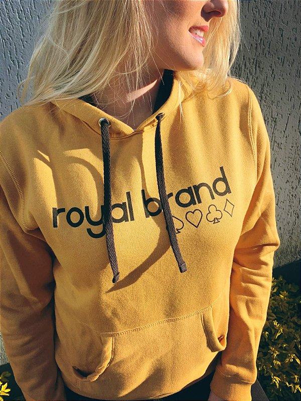 Moletom Feminino Royal Brand Caramel