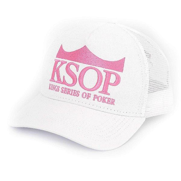 Boné KSOP Oficial Rosa