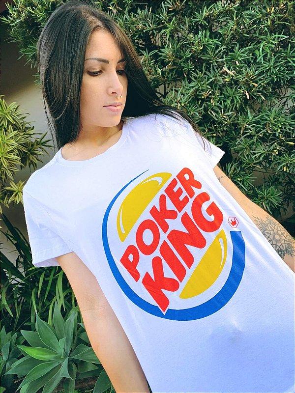 Camiseta Feminina Poker King