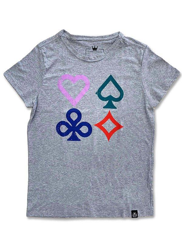 Camiseta Feminina Gaming Suits