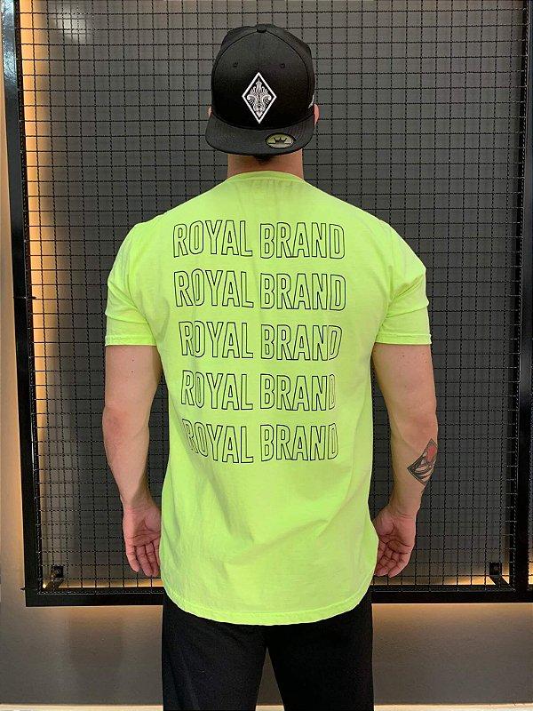 Camiseta Royal Brand Neon