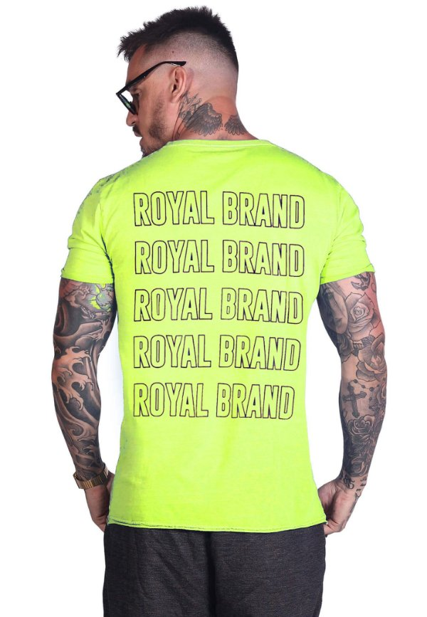 Camiseta Royal Brand Neon
