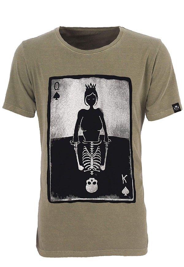Camiseta King Queen Verde